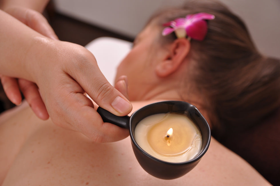 Golden Candle Massage